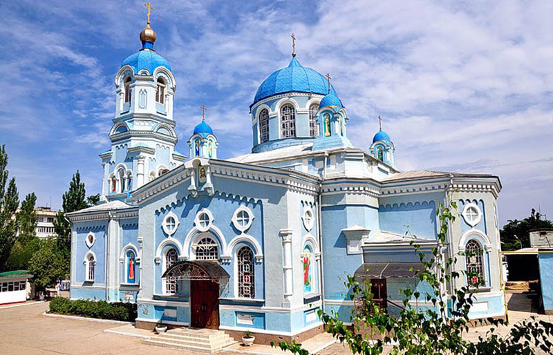 Саки Свято- Ильинский храм
