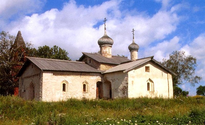 Васильевский погост с церковью св. Василия Кесарийского