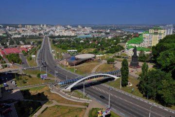 Где находится Белгород, город России: в 40 км от границы с Украиной