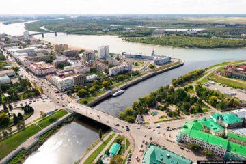 Омск достопримечательности города