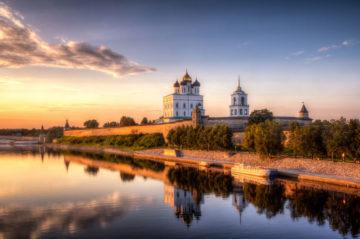 Псковская область, Печоры и Псково-Печерский монастырь