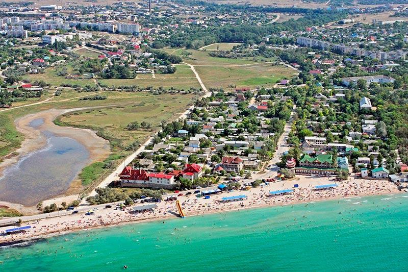 Поселок черноморское крым